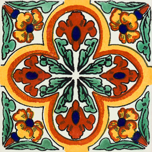 Talavera Green Tile Collection